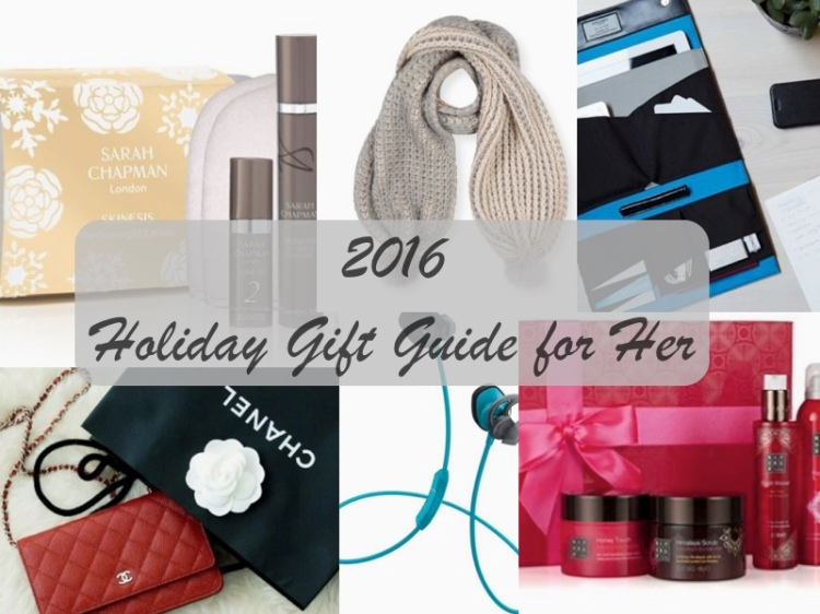 2016 Holiday Gift Ideas For Her Victoria Cheng